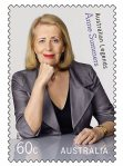 Anne Summers on australian stamp