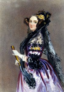 mother of computing, Ada Lovelace courtesy of Wikipaedia